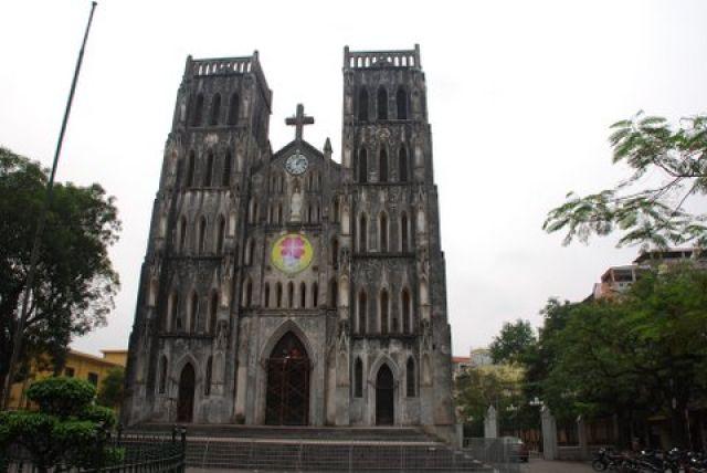 Zdjęcia: Nha Tho Lon, Hanoi, Katedra Nha Tho Lon, WIETNAM