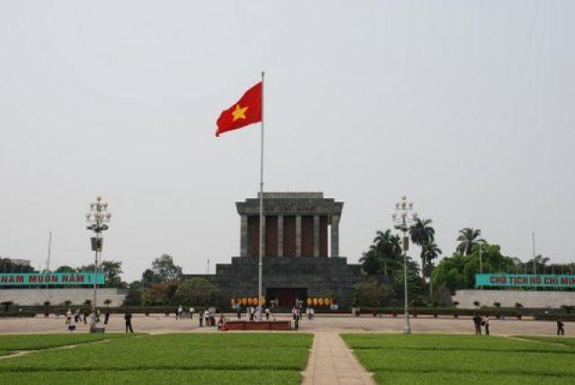 Zdjęcia: Duong Hung Vuong, Hanoi, Mazoleum Ho Chi Minh, WIETNAM
