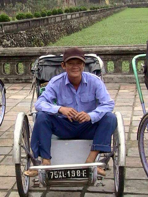 Zdjęcia: Hue, Srodkowy Wietnam, Riszkarz, WIETNAM