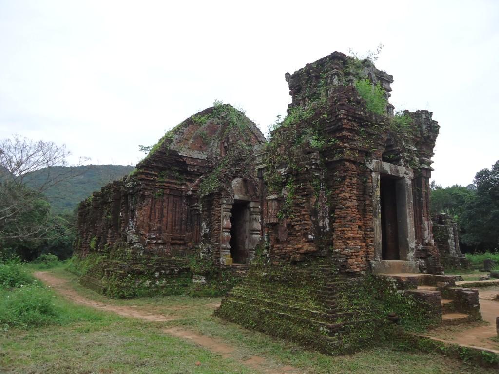 Zdjęcia: My Son, Prowincja Quang Nam / środkowy Wietnam, Architektura Czamów (3), WIETNAM