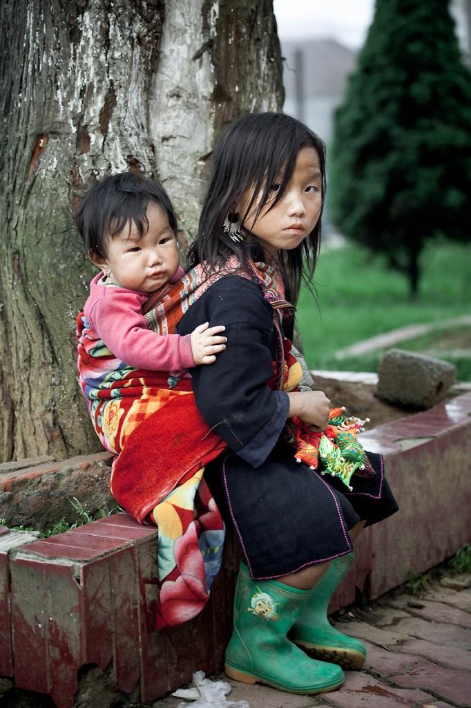 Zdjęcia: Sa Pa, Sa Pa, Nie wszyscy mają beztroskie dzieciństwo, WIETNAM