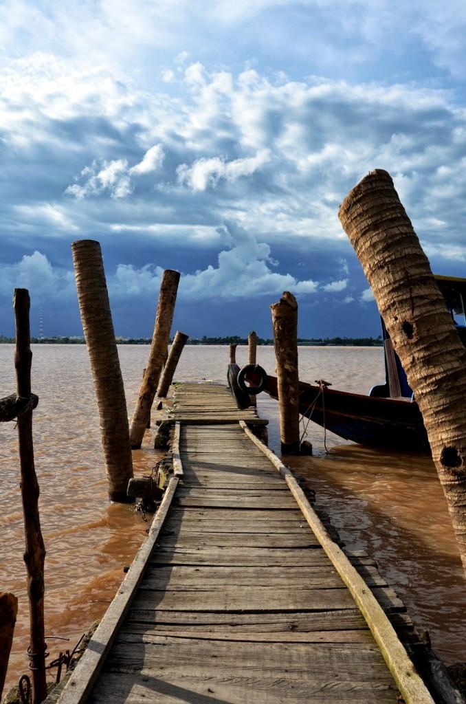 Zdjęcia: Mekong dalta, mekong delta, Gdzies na pomoscie, WIETNAM