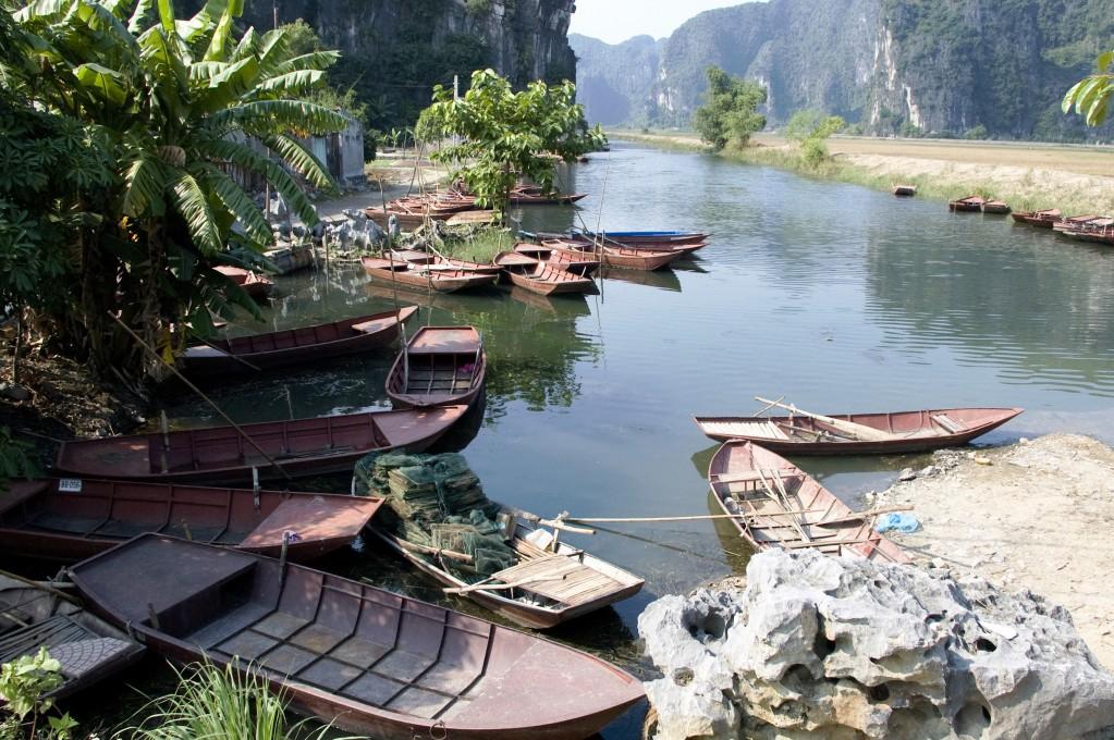 Zdjęcia: okolice Ninh Binh, Ninh Binh, Rajski krajobraz, WIETNAM