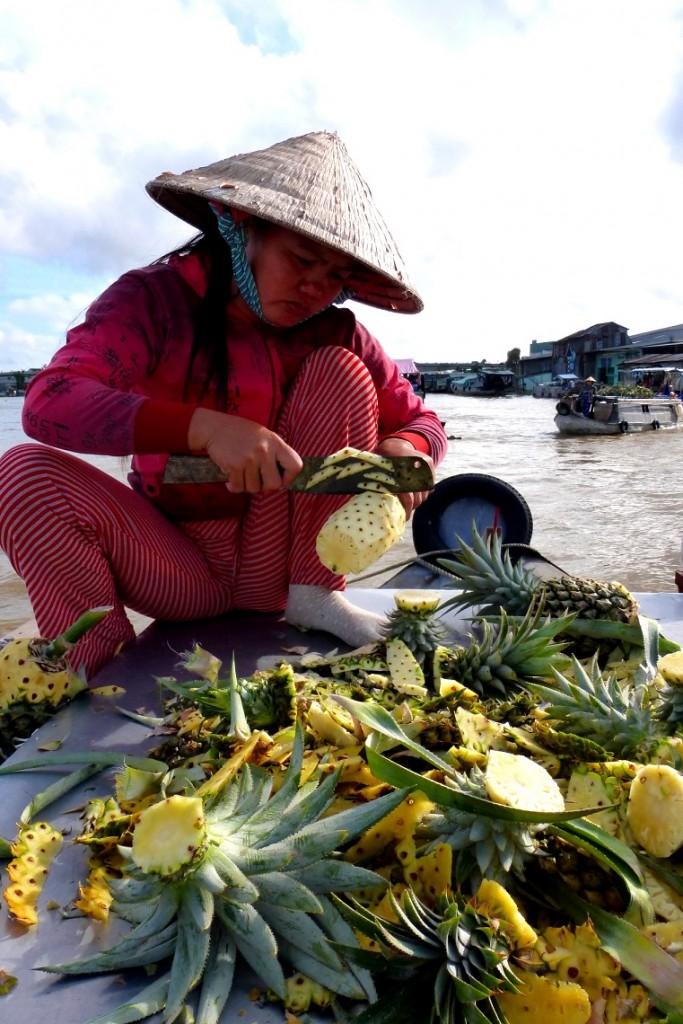Zdjęcia: Delta Mekongu , Pływałący targ, WIETNAM