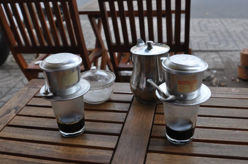 Zdjęcia: Ho Chi Minh , południe, kawa po wietnamsku, WIETNAM