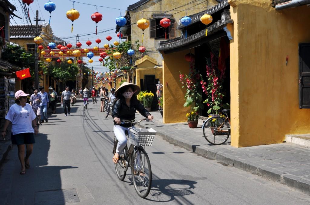 Zdjęcia: Hoi An, środkowy Wietnam, Uliczka w Hoi An 2, WIETNAM