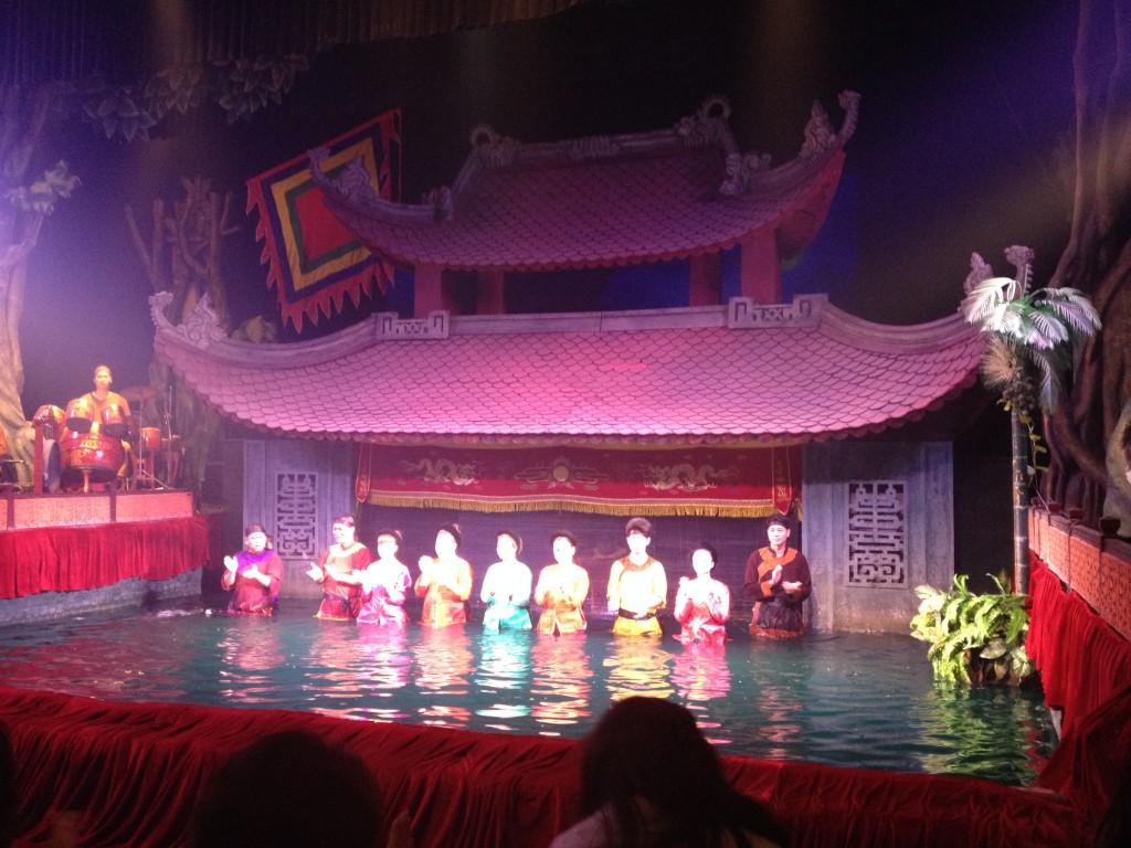 Zdjęcia: Hanoi, Wodny teatr, WIETNAM
