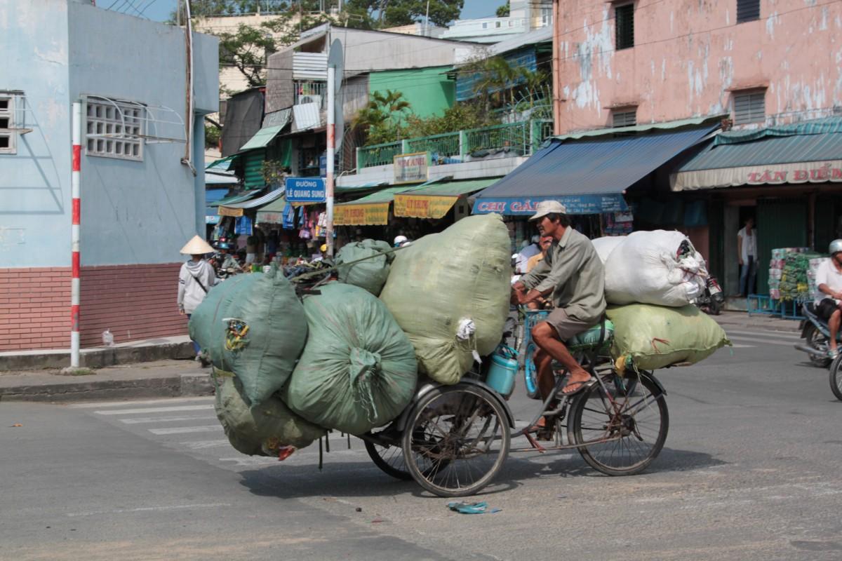 Zdjęcia: Ho Chi Minh, Wietnam, Wietnamczyk potrafi ;), WIETNAM