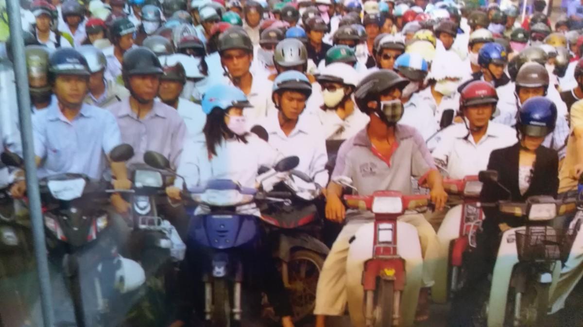 Zdjęcia: Sajgon , Sajgon Oni i ich maszyny., WIETNAM