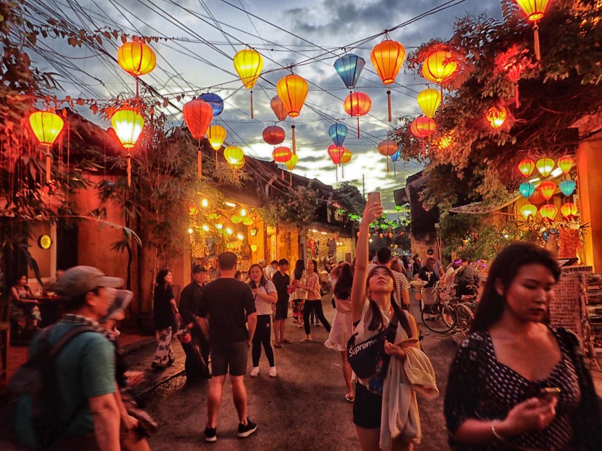 Zdjęcia: Hoi An, Prowincja Quảng Nam, Nocny Hoi An powtórka, WIETNAM