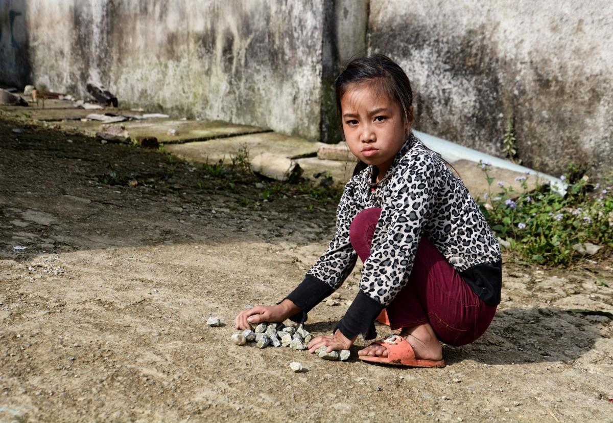 Zdjęcia: Ha Giang,  Region Północno-Wschodni, Zabawa :(, WIETNAM