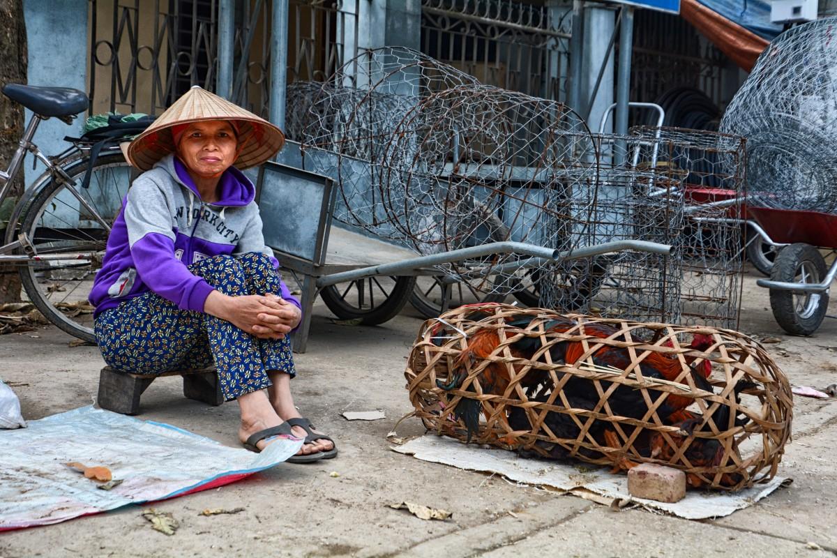Zdjęcia: Mai Chau, Prowincja Hoà Bình, Na ulicy, WIETNAM