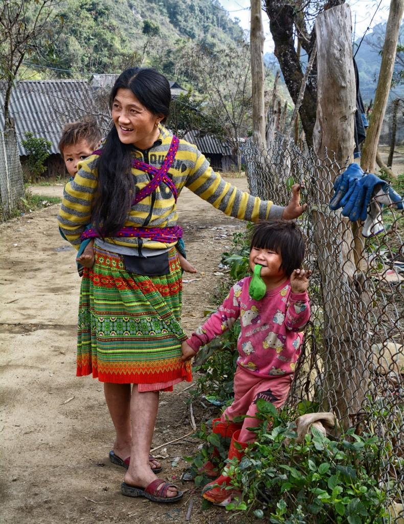 Zdjęcia: wioska Białych Tajów (okolica Mai Chau), Prowincja Hoà Bình, Wsi spokojna, WIETNAM