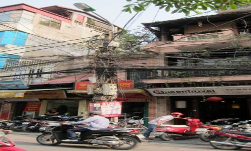 Zdjecie WIETNAM / - / Hanoi / Wietnamska tele
