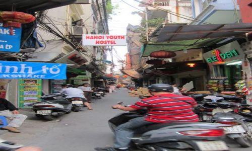 Zdjecie WIETNAM / - / Hanoi / Na skuterach