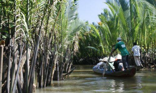Zdjęcie WIETNAM / Sajgon / Mekong / W delcie Mekongu