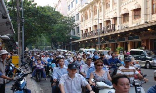 Zdjęcie WIETNAM / HCM City / Dong Khoi St. / Sajgonskie klimaty