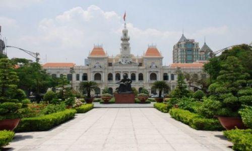 Zdjęcie WIETNAM / HCM City / Le Thanh Ton / Ratusz