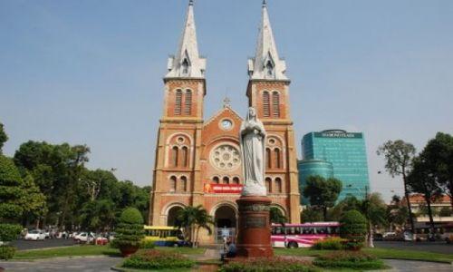 Zdjęcie WIETNAM / HCM City / Nguyen Du / Katedra