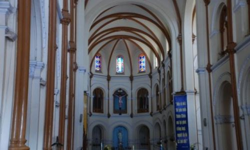 Zdjęcie WIETNAM / HCM City / Nguyen Du / Katedra w Sajgonie