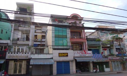 Zdjecie WIETNAM / HCMC / Ho Chi Minh City / typowa zabudowa Sajgonu