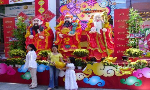 Zdjecie WIETNAM / HCMC / Ho Chi Minh City / Nowy Rok w Sajgonie