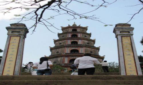 Zdjęcie WIETNAM / Hue / Thien Mu Pagoda / Thien Mu Pagoda