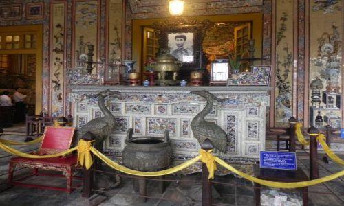 Zdjęcie WIETNAM / hue / swiatynia / pagoda