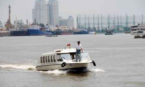 Zdjęcie WIETNAM / Ho Chi Minh City / HCMC / Mekong w Sajgonie