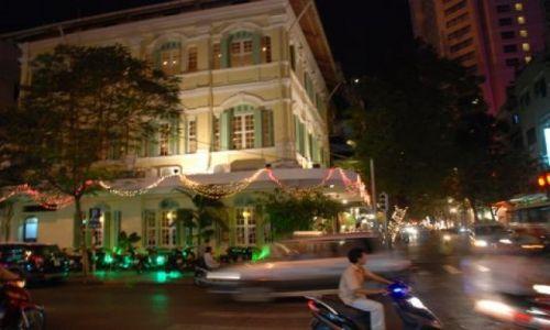 Zdjęcie WIETNAM / Ho Chi Minh City / HCMC / Sajgon nocą