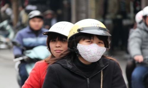 Zdjęcie WIETNAM / Delta Rzeki Czerwonej / Hanoi / Dziewczyny