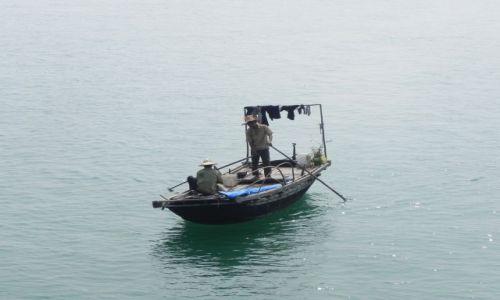 Zdjecie WIETNAM / halong bay / zatoka / rybacy