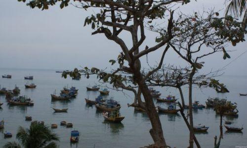 Zdjecie WIETNAM / Centralne wybrzeże / Mui Ne / Port rybacki