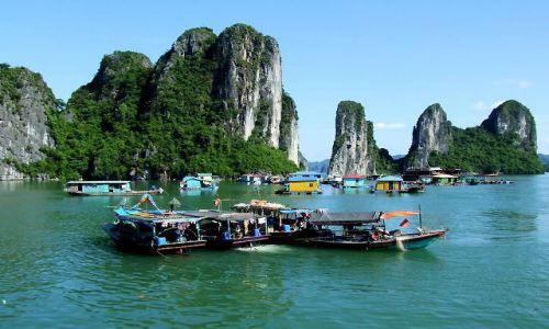 Zdjęcie WIETNAM / zatoka / wietnam / Ha Long Bay