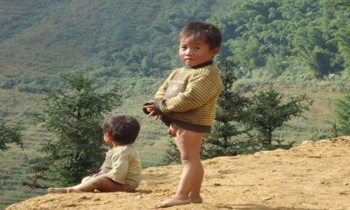 Zdjecie WIETNAM / Tay Bac / Lao Cai / Sa Pa / Dzieci
