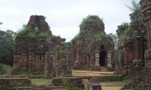 Zdjęcie WIETNAM / Prowincja Quang Nam / My Son / Architektura Czamów