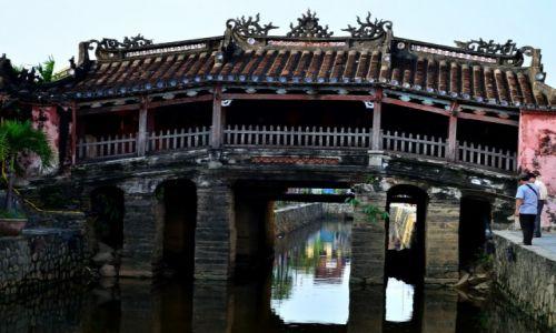 Zdjecie WIETNAM / prowincji Quảng Nam / Hoi An / most Japoński...