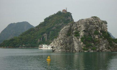 Zdjęcie WIETNAM / Prowincja Quang Ninh / Zatoka Ha Long / Świątynia