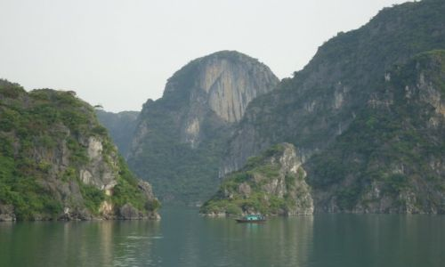 WIETNAM / Prowincja Quang Ninh / Zatoka Ha Long / Ha Long