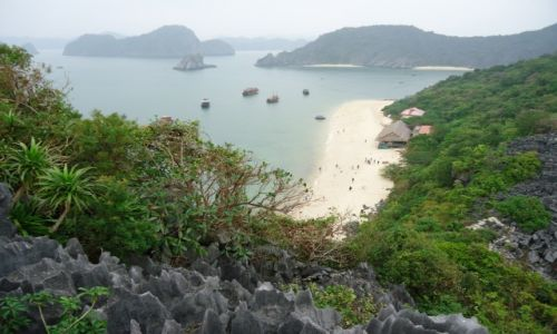 Zdjecie WIETNAM / Quang Ninh / północny Wietnam / Monkey Island / wyspa Małp / Krajobraz ...