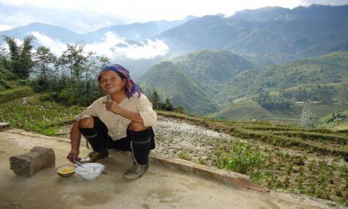 Zdjecie WIETNAM / Lao cai / Sa Pa / Kobiety Hmong (5)