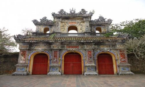 Zdjęcie WIETNAM / Prowincja Thua Thien-Hue / Hue / Brama