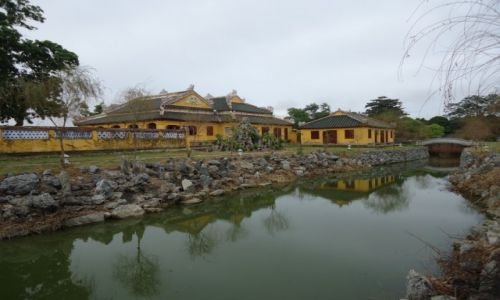 Zdjęcie WIETNAM / Thua Thien-Hue / środkowy Wietnam / Hue / Fragment Zakazanego Miasta