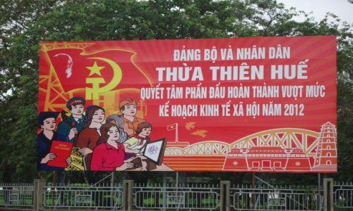 Zdjecie WIETNAM / Thua Thien-Hue / środkowy Wietnam / Hue / Wietnam socjalistycznie
