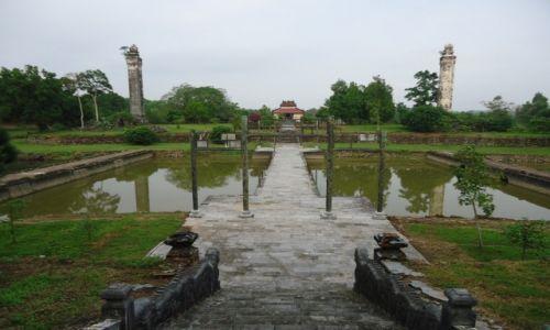 Zdjęcie WIETNAM / Thua Thien-Hue / okolice Hue / Grobowiec Thieu Tri