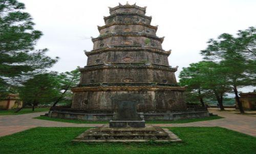 Zdjęcie WIETNAM / Thua Thien-Hue / Hue / Pagoda Tien Mu