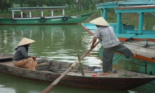Zdjęcie WIETNAM / Quang Nam / środkowy Wietnam / Hoi An / Scena z portu
