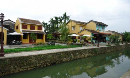 Zdjęcie WIETNAM / Quang Nam / środkowy Wietnam / Hoi An / Nad kanałem