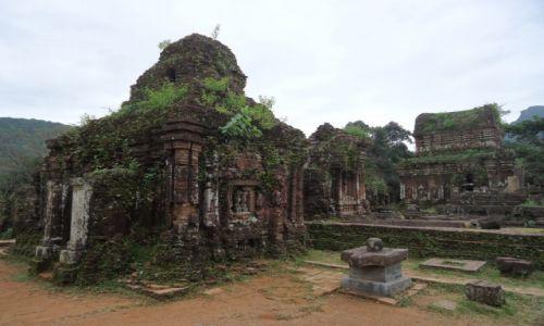 Zdjecie WIETNAM / Prowincja Quang Nam / środkowy Wietnam / My Son / Architektura Czamów (2)