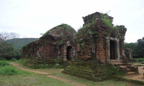 Zdjecie WIETNAM / Prowincja Quang Nam / środkowy Wietnam / My Son / Architektura Czamów (3)